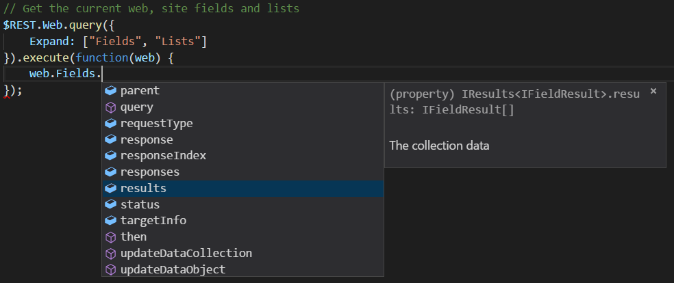 Collection Properties